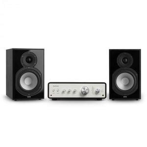Numan Drive 802, sztereo készlet, sztereó erősítő, polc hangfal, fekete kép
