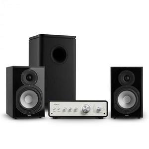 Numan Drive 802, sztereo készlet, erősítő, polc hangfal, subwoofer, fekete kép