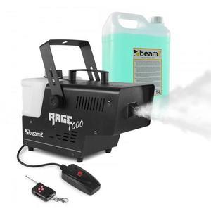 Beamz Rage 1000, ködgép, mellékelve ködfolyadék, 1000 W, 125 m³/perc kép