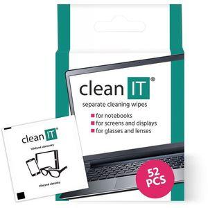 CLEAN IT Tisztítókendő 52 db kép