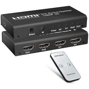 PremiumCord HDMI kapcsoló 2: 2, 3D, 1080p távirányítóval kép