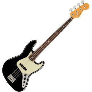 Fender American PRO Jazz Bass RW Black kép