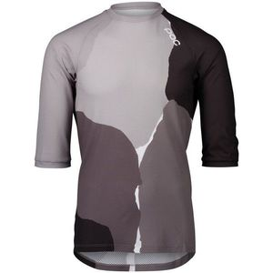 POC MTB Pure 3/4 Jersey Color Splashes Multi Sylvanite Grey M kép
