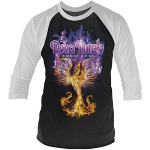Deep Purple Phoenix Rising 3/4 Sleeve Baseball Tee M kép