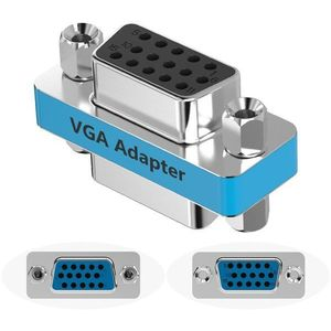 Vention VGA Female to Female Adapter Silvery Metal Type kép