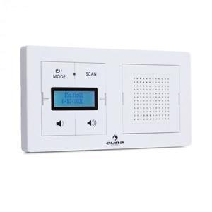 Auna DigiPlug UP, aljzatba csatlakoztatható rádió, DAB+/FM, BT, LC-kijelző kép