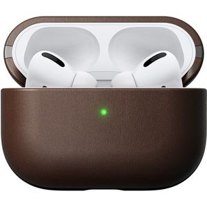 Nomad Leather Case Brown Apple AirPods Pro kép