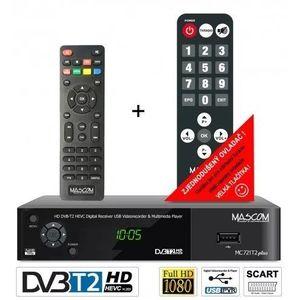 Mascom MC721T2 plus HD DVB-T2 H.265/HEVC kép