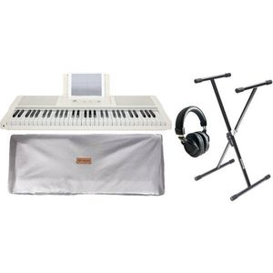 Smart piano The ONE Light Keyboard - White Gold SET kép