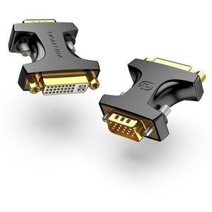 Vention VGA (M) to DVI (F) Adapter Black kép