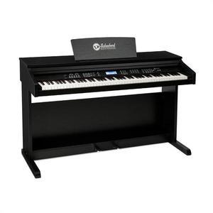 SCHUBERT Subi88 MK II, elektromos zongora, 88 billentyű, MIDI, USB, 360 hang, 160 ritmus, fekete kép