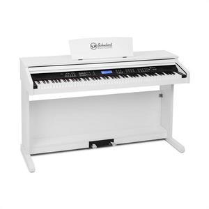 SCHUBERT Subi88 MK II, zongora, 88 billentyű, MIDI, USB, 360 hang, 160 ritmus, fehér kép
