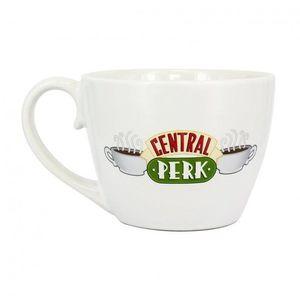 Jóbarátok - Central Perk - cappuccino csésze, fehér kép