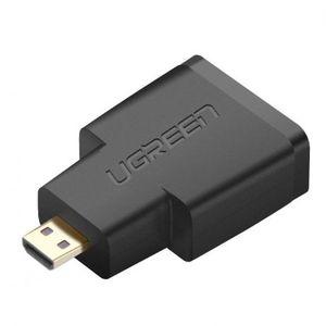 Ugreen 20106 adapter Micro HDMI - HDMI, M/F, fekete (20106) kép