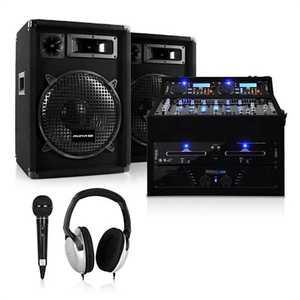 Electronic-Star DJ szet Rack Star Jupiter Shock, 800 W kép