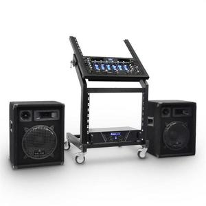 Electronic-Star Rack Star Series Mercury Beat DJ PA szett, 250 személy kép