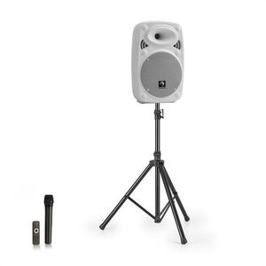 Auna Streetstar 8 mobil PA rendszer + UHF mikrofon kép