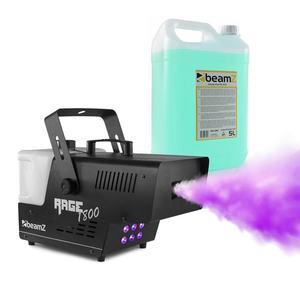 Beamz Rage 1800, LED, ködgép, mellékelve füstfolyadék, 1800 W, 530 m³/perc kép