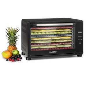 Klarstein Mega Jerky, élelmiszer szárító, 650 W, 50 - 80 °C, érintős LC kijelző, időzítő kép