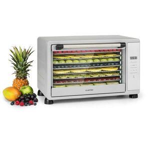 Klarstein Mega Jerky, automatikus szárító, 650W, 35-80 ° C, érintőképernyős LCD kijelző, időzítő, 8 polc kép