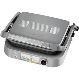 Sencor SBG 6231SS kontakt grill, inox (41010152) kép