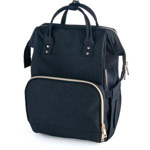 CANPOL BABIES LADY MUM pelenkázó hátizsák - fekete kép