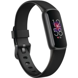 Fitbit Luxe - Black/Graphite Stainless Steel kép
