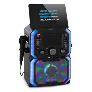 Auna Rockstar Plus, karaoke rendszer, karaoke készülék, bluetooth, USB, CD, LED show, cinch kép