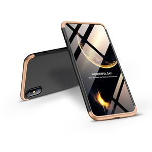 Apple iPhone XS Max hátlap - GKK 360 Full Protection 3in1 - fekete kép