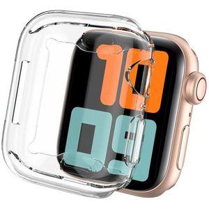 AhaStyle TPU tok az Apple Watch számára 44 MM, átlátszó, 2 db kép