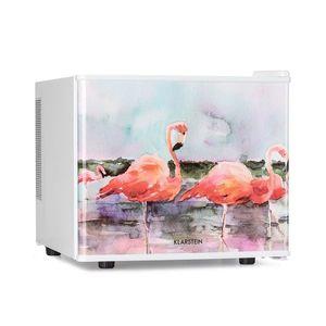Klarstein Pretty Cool, hűtőszekrény kozmetikumokra, Flamingo, 17 literes, 50 W, 1 polc kép