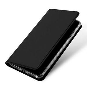 DUX DUCIS Skin Pro bőr könyvtok iPhone 11, fekete kép
