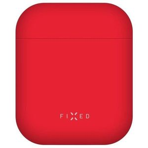 FIXED Silky az Apple Airpods készülékhez piros kép