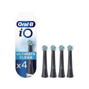 Oral-B iO Ultimate Clean pótfej 4 db, fekete kép