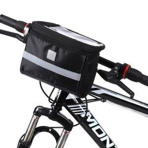 MG Handlebar kerékpáros táska kormányra 2L, fekete (WBB12BK) kép