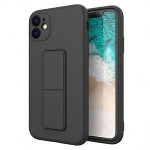MG Kickstand szilikon tok iPhone 11 Pro, fekete kép