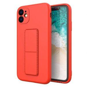 MG Kickstand szilikon tok iPhone 11 Pro, piros kép