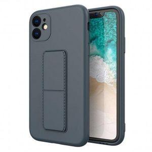MG Kickstand szilikon tok iPhone 11 Pro, kék kép