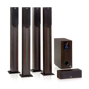 Auna Areal elegance, 5.1- csatornás rendszer, 190W, RMS, BT, USB, SD, AUX kép