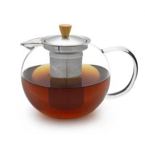 Klarstein Sencha, teafőző kancsó, 1, 3 l, nemesacél szűrő, boroszilikát üveg, fedél kép